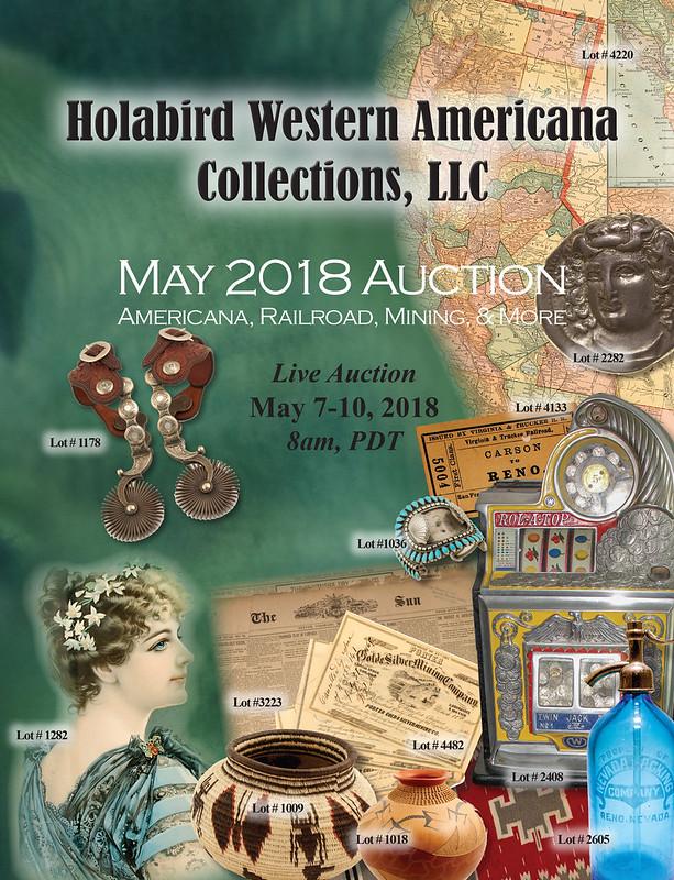 Holabird E-Sylum ad 2018-04-15 May 2018 sale