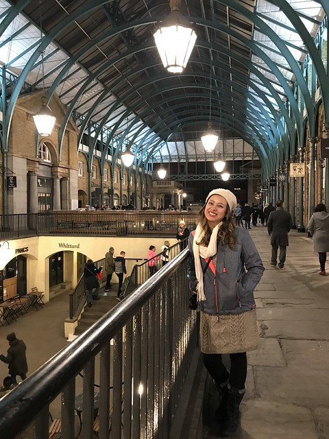 Covent Garden  March 21, 2018 after dinner
