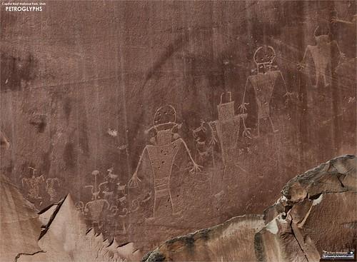 Petroglyphs of Capitol Reef National Park, Utah