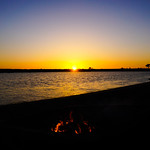 Fiesta Island Fiery Sunset