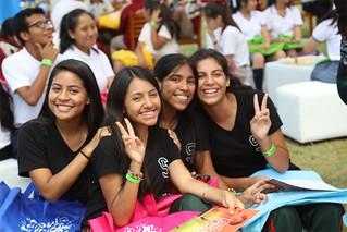 Del 26 al 28 de abril, más de 5000 personas -entre alumnos, docentes y padres de familia de 106 colegios-, participaron en la 2.° Feria de Carreras USIL 2018, realizada en el campus de Pachacámac.