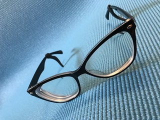 The silicone eyeglass holders work like a charm.  Where have they been all my life!?!  Gamechangers.