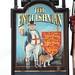 The Englishman Inn pub sign Southampton Hampshire UK