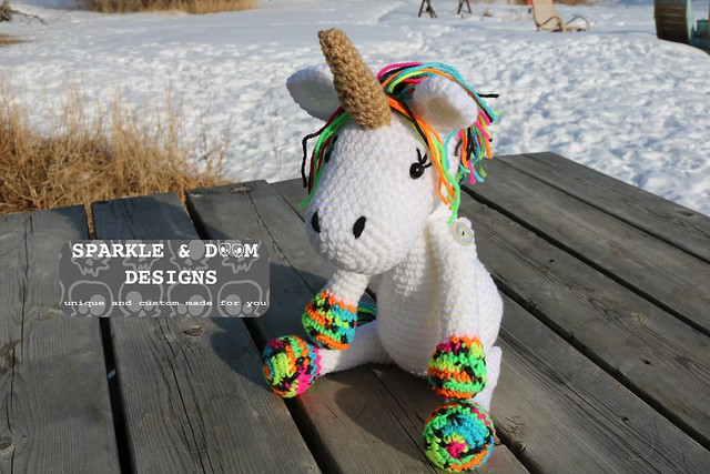 DOLL Neon Unicorn 1b