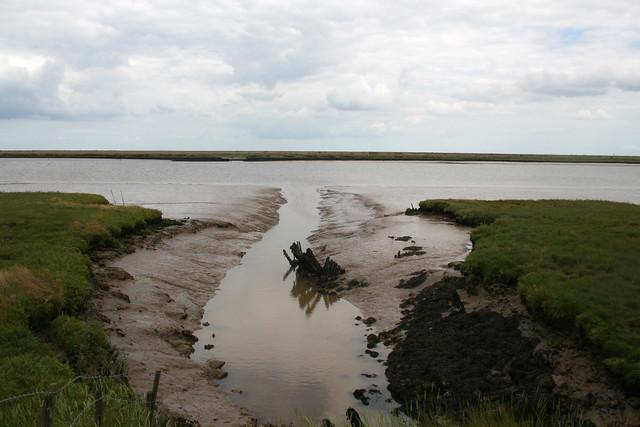 The River Ore near Aldeburgh