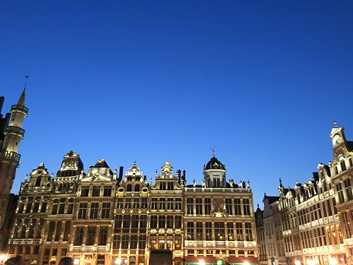 Grand Place, Brussels, Bruxelles, Belgium, Belgica | by voces