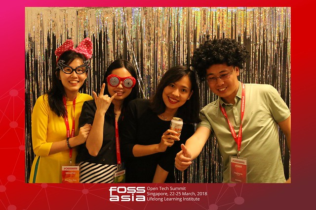 FOSSASIA Summit 2018 Photobooth