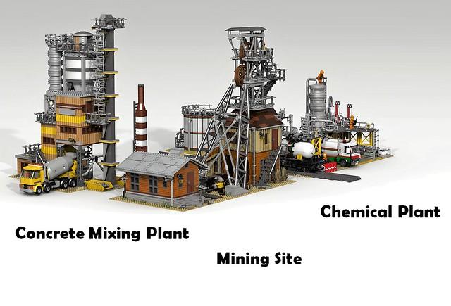 Industrial zone 3 models