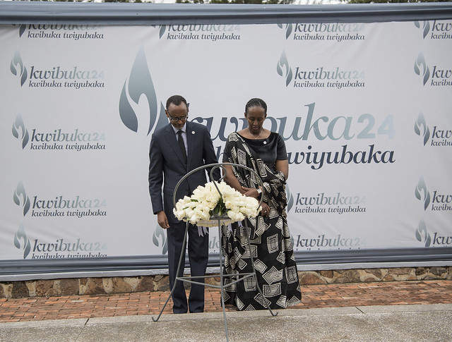 Kwibuka24 Commemoration of the Genocide against the Tutsi at the Kigali Genocide Memorial