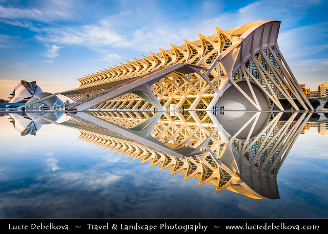Spain - Valencia - City of Arts and Sciences