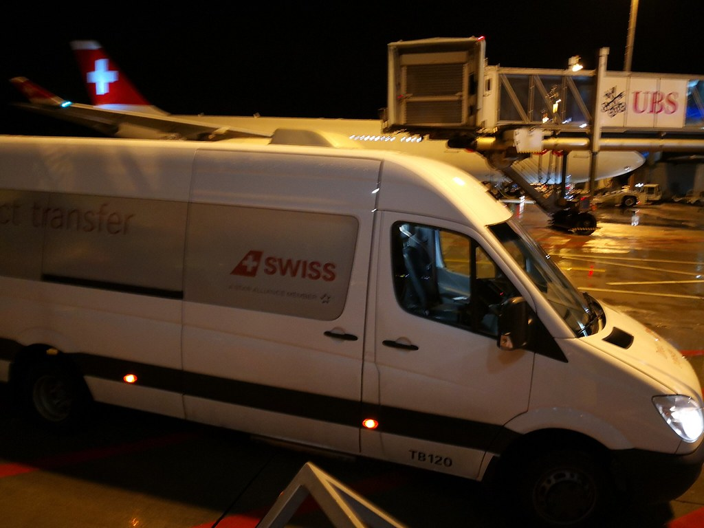 Swiss van for direct transfer