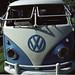 Split Window Volkswagen Kombi - front by nickant44