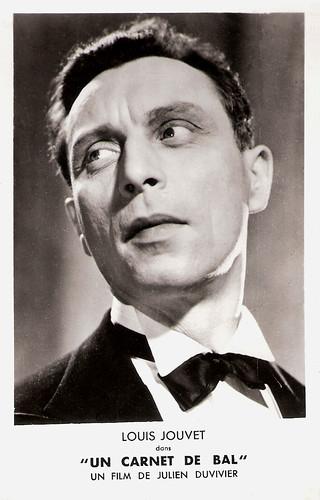 Louis Jouvet in Un Carnet de Bal (1937)