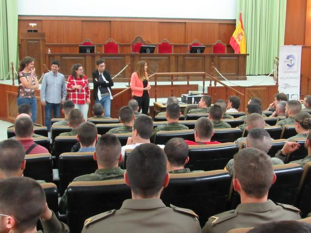 Presentación Plan Acción social Academia Infantería (Jueves 3 de mayo de 2018)