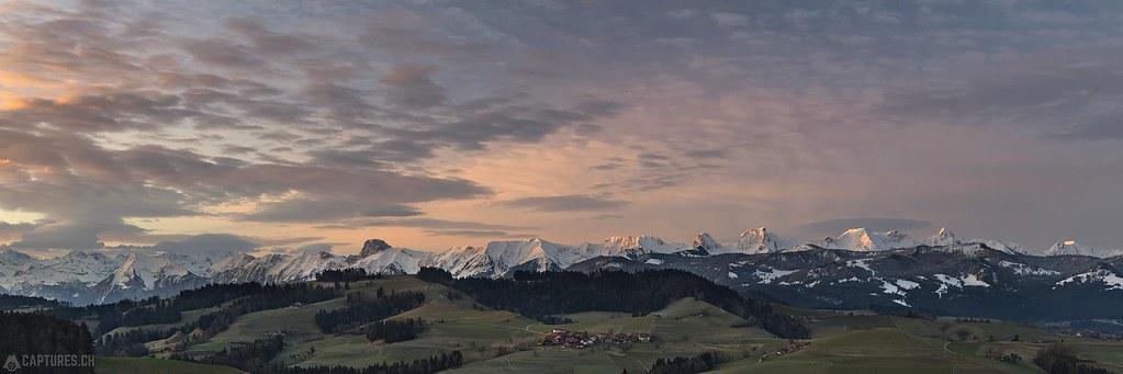Panorama - Naturpark Gantrisch