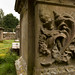 Conch grave | Church of St Mary (ruins) | Woodchester-1