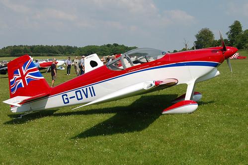 G-OVII Vans RV-7 (PFA 323-14100) Popham 080608