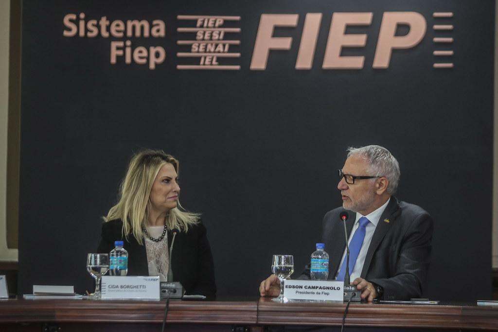 Reunião Diretoria FIEP com Presença da Governadora Cida Borghetti