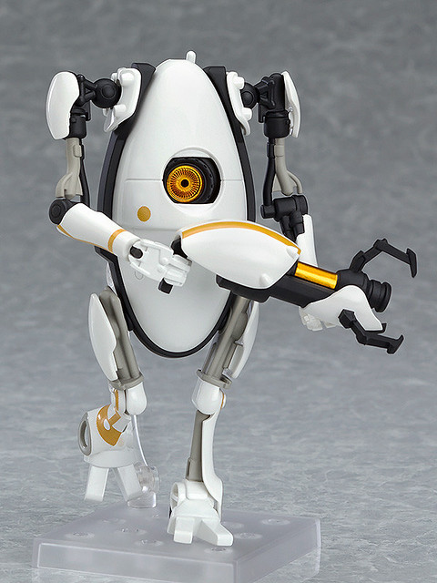 請向夥伴揮手。黏土人《傳送門2(Portal 2)》P-Body(ねんどろいど P-Body)