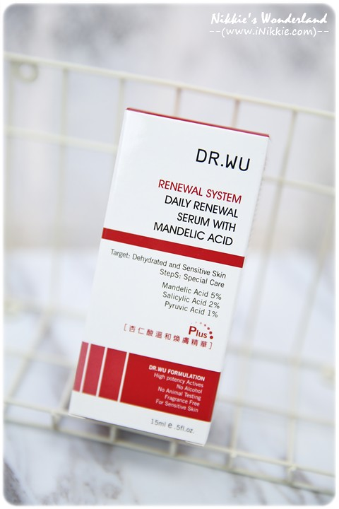 DR.WU達爾膚 杏仁酸溫和煥膚精華