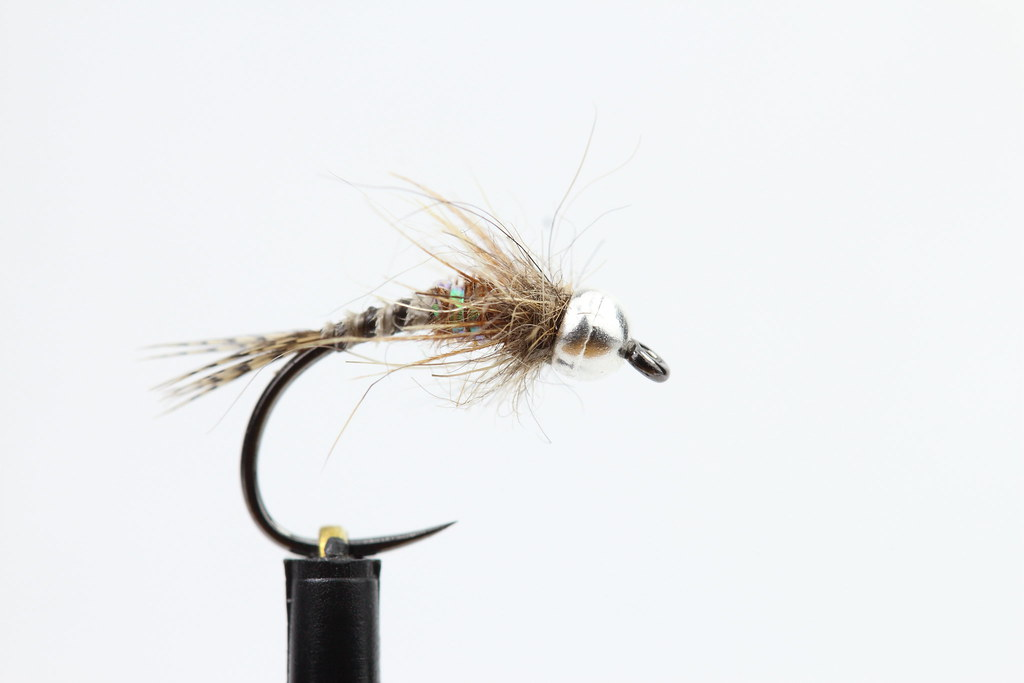 Dave Wiltshire's Baetis Nymph - With Added Silver Bead