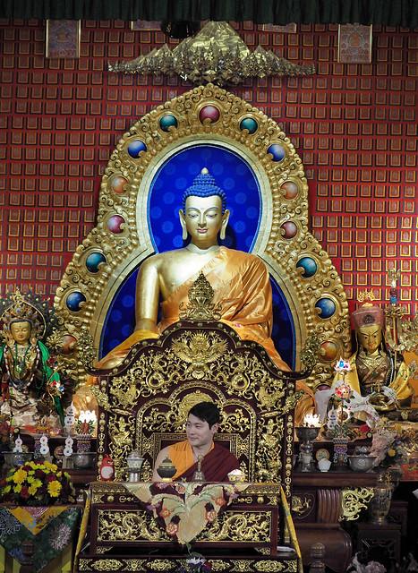 Sakya Monastery, Olympus E-M1MarkII, Lumix G X Vario 35-100mm F2.8 Power OIS