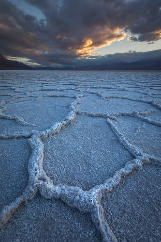 Hex'ed, Badwater Basin, Death Valley, California