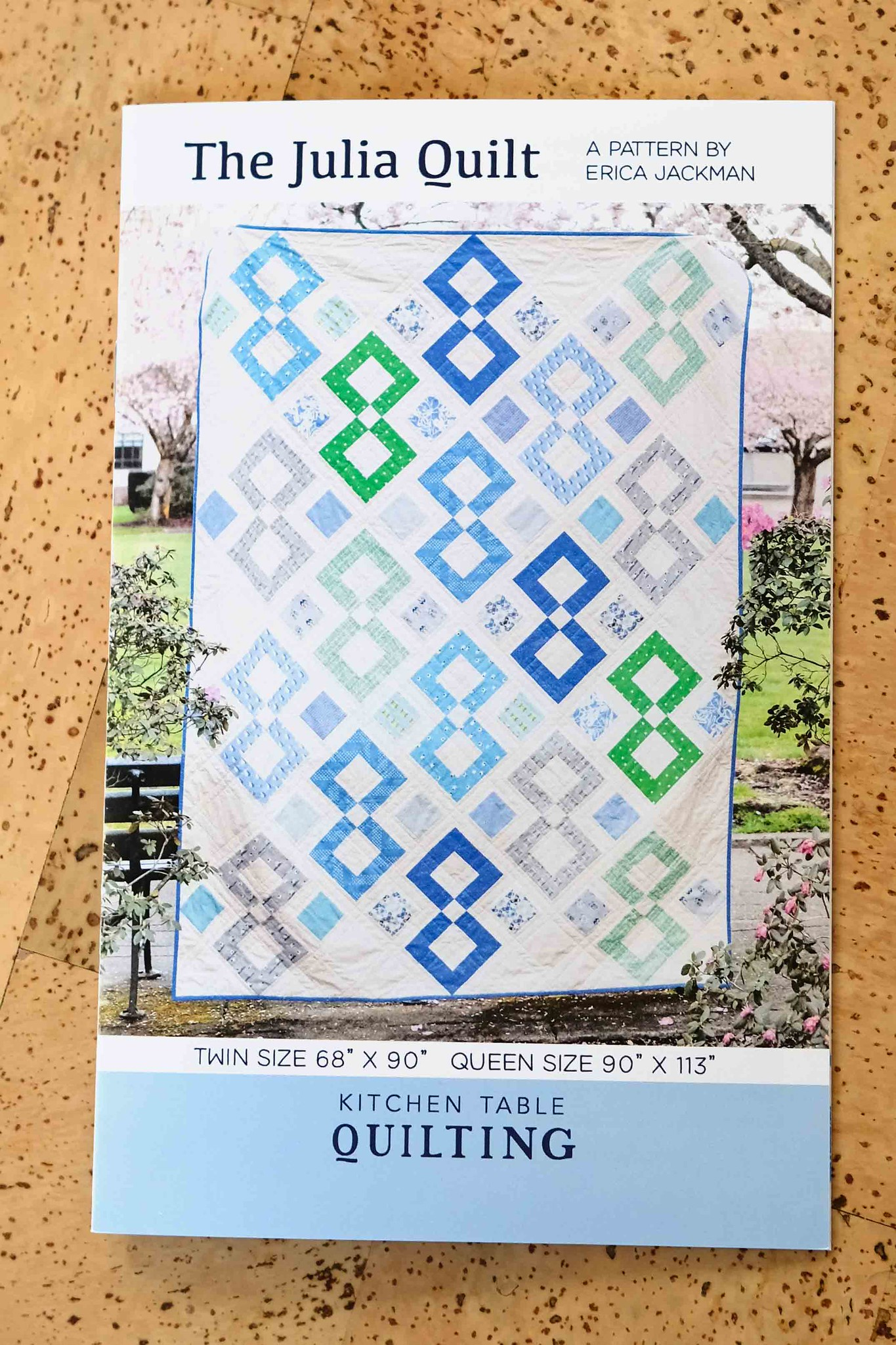 The Julia Quilt Print Pattern - Kitchen Table Quilting