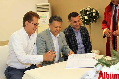 Mustafa Berberoğlu, Mehmet Ali Dim, Adem Murat Yücel
