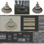 Fountain Blender 3D
