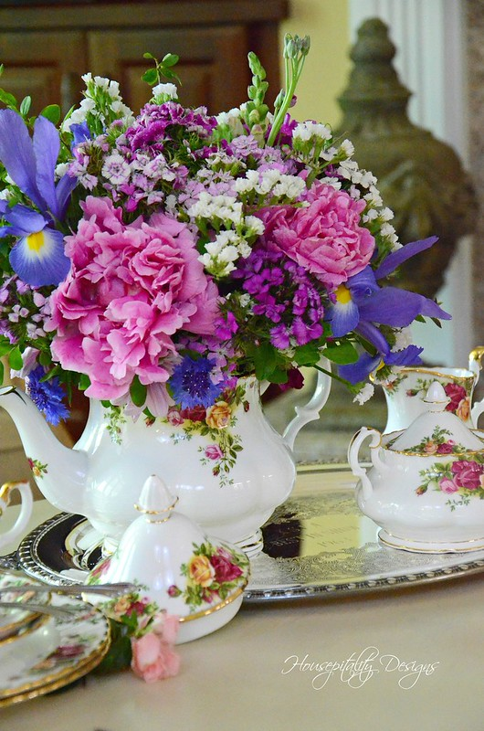 Teapot Arrangement-Housepitality Designs
