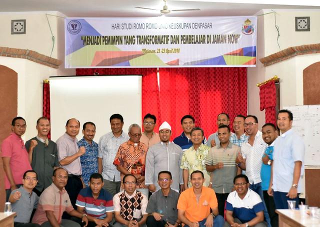 Hari Studi Unio Keuskupan Denpasar 23 - 25 April 2018