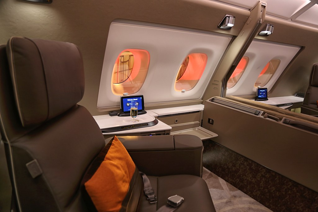 Singapore Airlines First Class Suites double suite