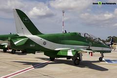 8807 - SA026 330 - Saudi Hawks - Royal Saudi Air Force - British Aerospace Hawk 65A - Luqa Malta 2017 - 170923 - Steven Gray - IMG_0035