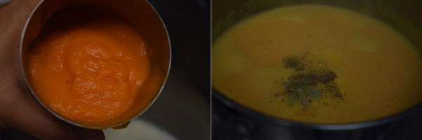 Carrot Kheer/Carrot Payasam cooking steps by GoSpicy.net