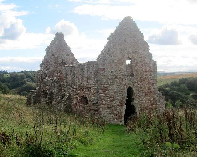 Crichton Castle Stables Close View