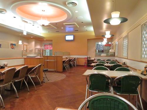 福島競馬場グルメの万松の店内内観