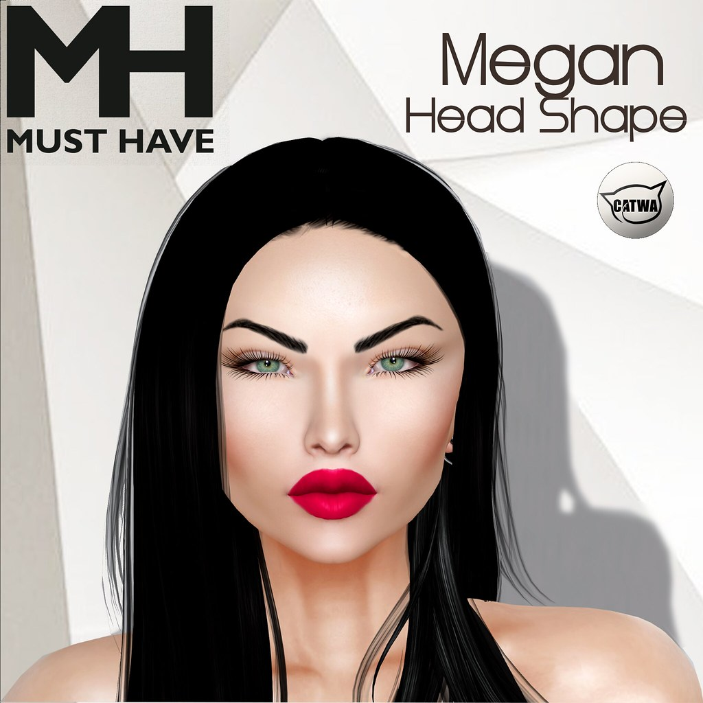 MUST HAVE – Megan Head Shape (Catwa Koura)