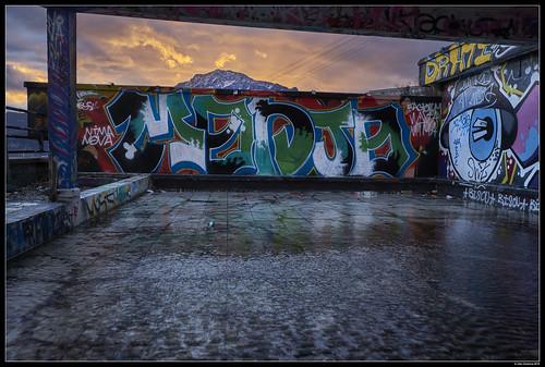 Urban/Mountain Mixed Sunset #2