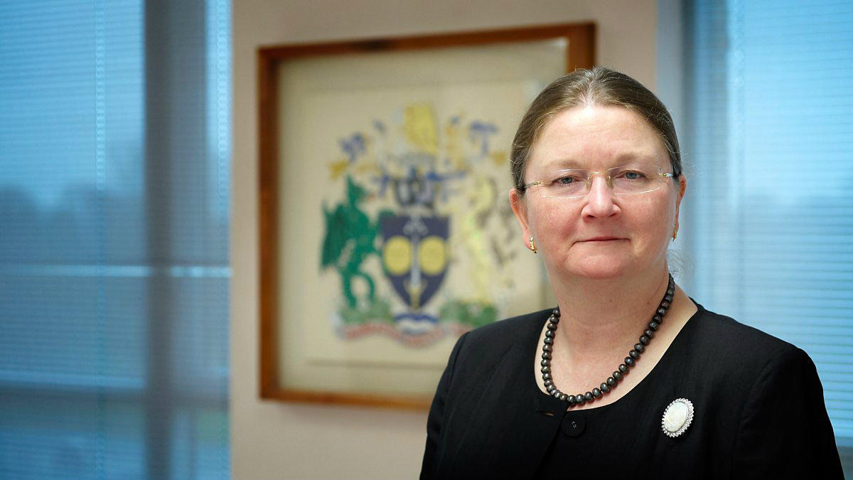 President and Vice-Chancellor, Professor Dame Glynis Breakwell DBE.