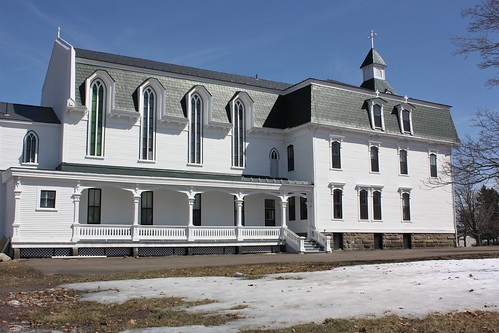 bouctouche newbrunswick canada historic heritage building convent museum