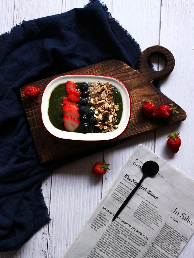 綠果昔碗 green-smoothie-bowl (2)