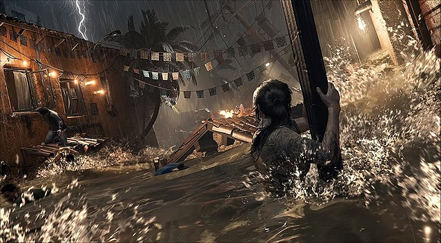 Shadow of the Tomb Raider - Flooded City