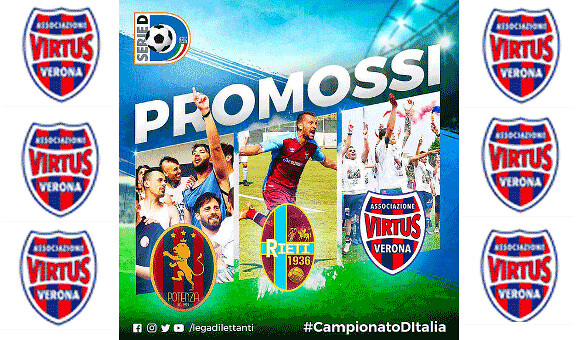 Virtus in C, le congratulazioni di Lega Pro e LND