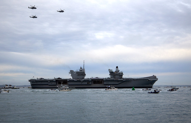 HMS Queen Elizabeth, Canon EOS 5D MARK IV, Canon EF 24-105mm f/4L IS USM