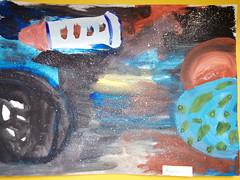 Смирнова Алиса (рук. Андреева Светлана Алексеевна) - Космос