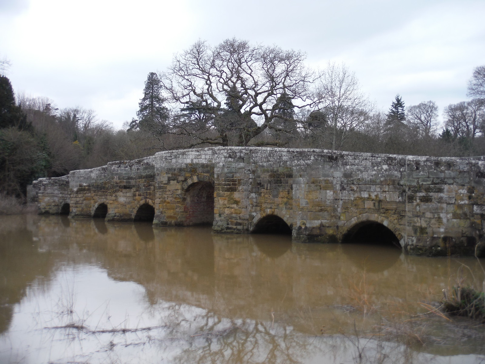 Stopham Bridge SWC Walk 39 - Amberley to Pulborough