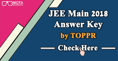 JEE Main Answer Key by Toppr