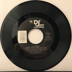 L.L. COOL J:AROUND THE WAY GIRL(RECORD SIDE-A)