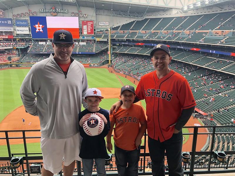 Astros vs. Padres